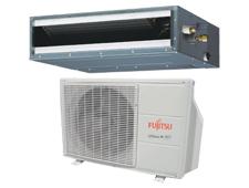 Fujitsu – Thermopompe Plafonnier Avec Conduits – jusqu'à 21.5 TRÉS (Série RLFCD)
