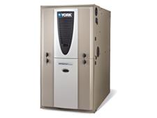 York – Fournaise modulante au Gaz 60 à 120 MBtu Ventilateur Variable ECM (série Affinity – YP9C)