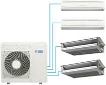 Daikin – Thermopompe Multi-zone – jusqu'à 26.1 TRÉES (Série MXS)