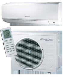 Windair – Thermopompe Murale Sans Conduits – jusqu'à 15 TRÉS (Série EWH-AC)