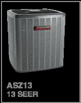 Amana – Thermopompe Centrale – 1.5 à 5 tonnes – jusqu'à 13 TRÉS (Série ASZ13)