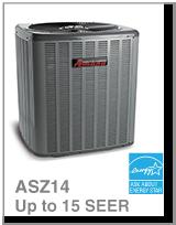 Amana – Thermopompe Centrale – 1.5 à 5 tonnes – jusqu'à 14 TRÉS (Série ASZ14)