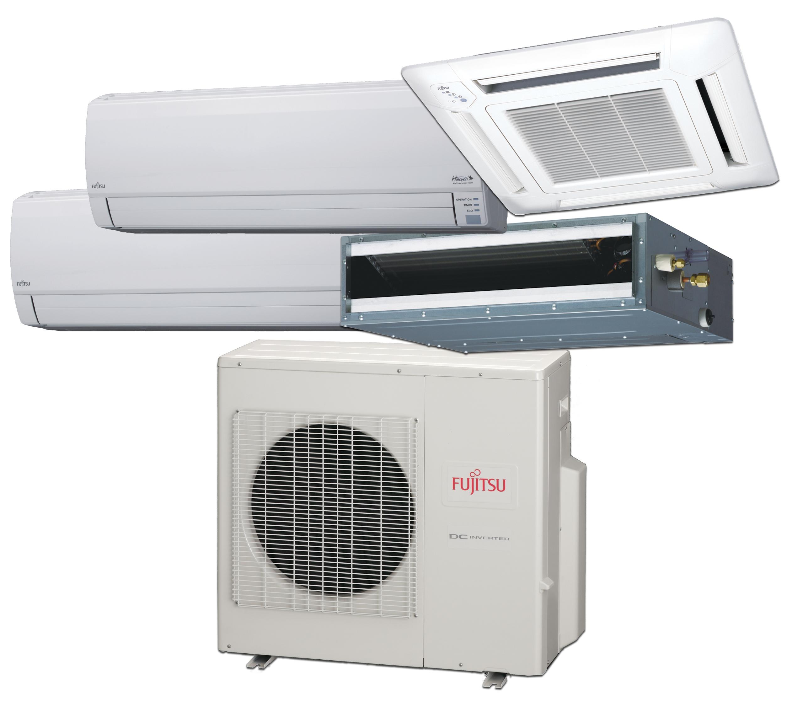 Fujitsu – Thermopompe Système Multizone – jusqu'à 3 zones (Série RLXFZ)